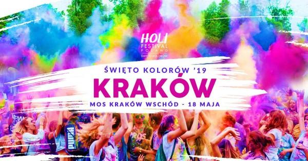Свято кольорів в Кракові (Holi Festival – Święto Kolorów w Krakowie)