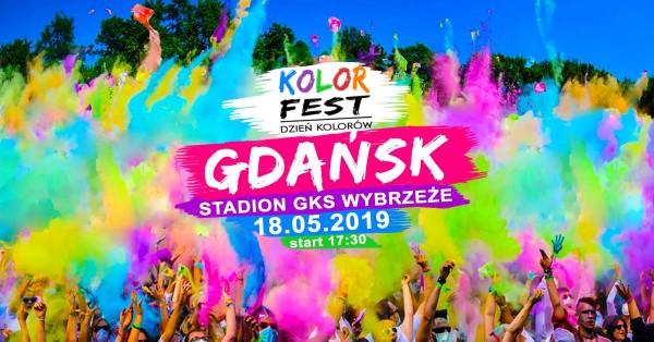 Свято кольорів в Гданську
