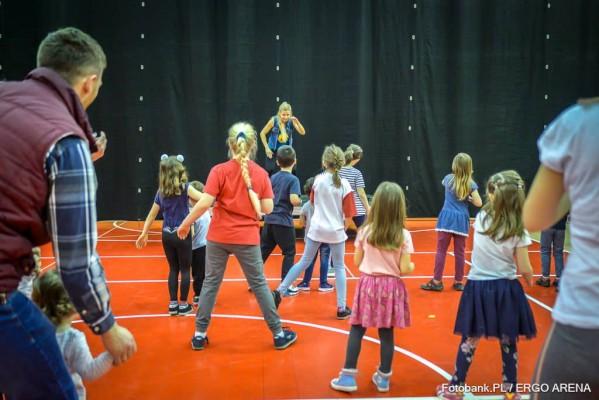 Активна неділя, або День захисту дітей в ERGO ARENA