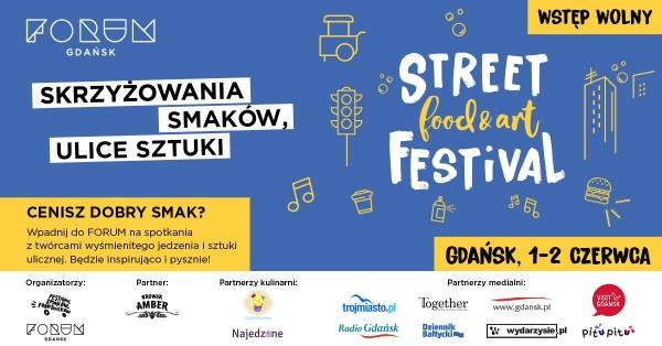 Фестиваль вуличної їжі в Гданську