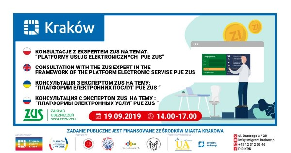 Konsultacje z ekspertem Platforma usług Elektronicznych PUE ZUS