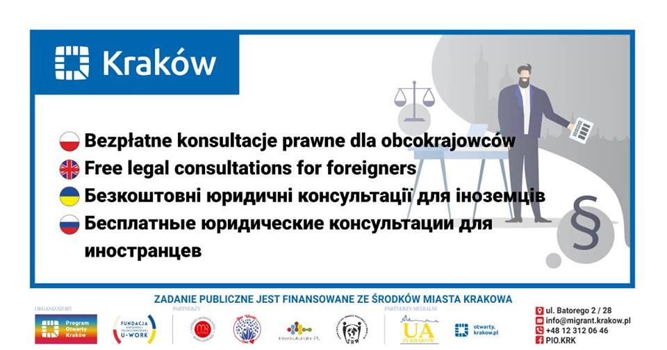 Bezpłatne konsultacje prawne dla obcokrajowców