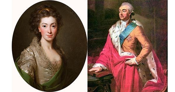 Изабелла Чарторыйская и Адам Чарторыйский