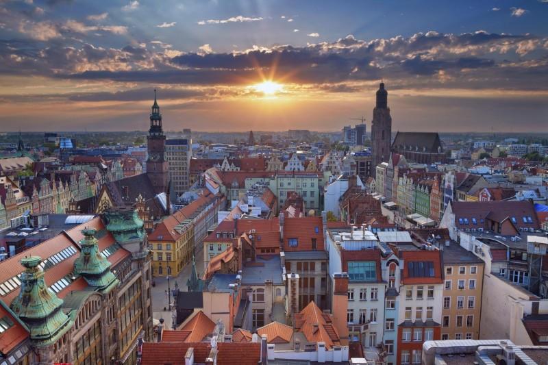 Панорама Вроцлава