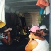 Внутри багажников, где не было ни окон, ни кондиционера, стояла невероятная духота