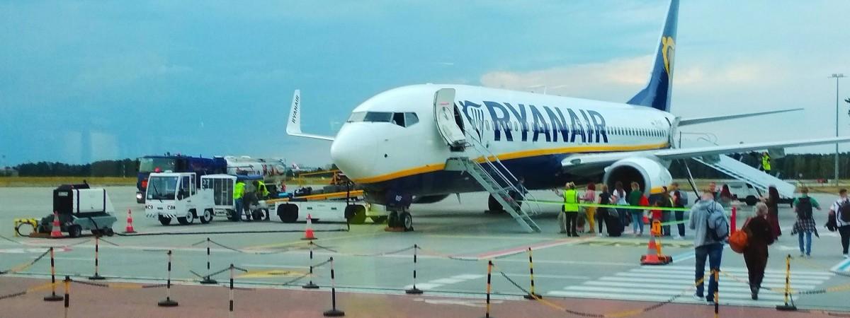 """Ryanair відновить рейс """"Бидгощ-Київ"""", який скасували восени 2020 року"""