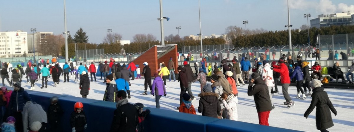 Де покататися на ковзанах у Варшаві?