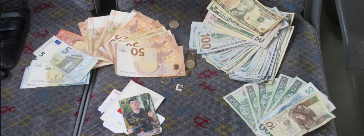 Украинцу вернули сумку с деньгами, забытую в автобусе во Вроцлаве