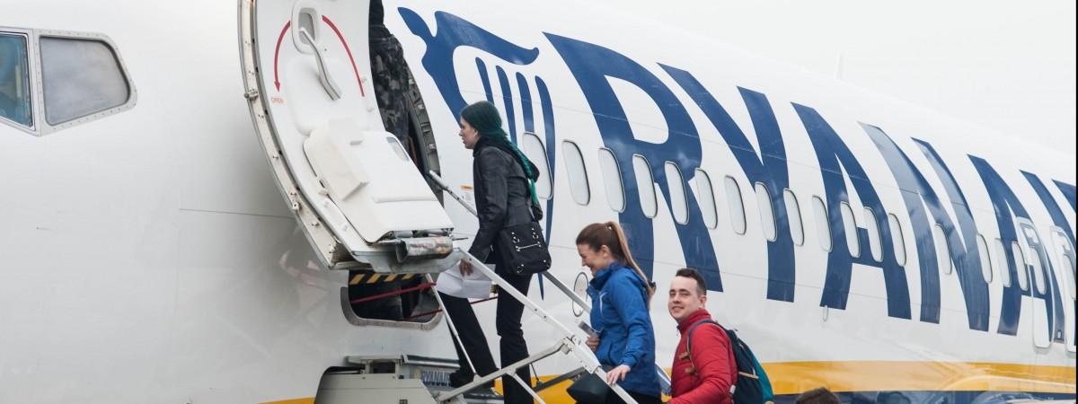 Дешевле разве что пешком: Ryanair предлагает перелеты между Украиной и Польшей за 10 евро