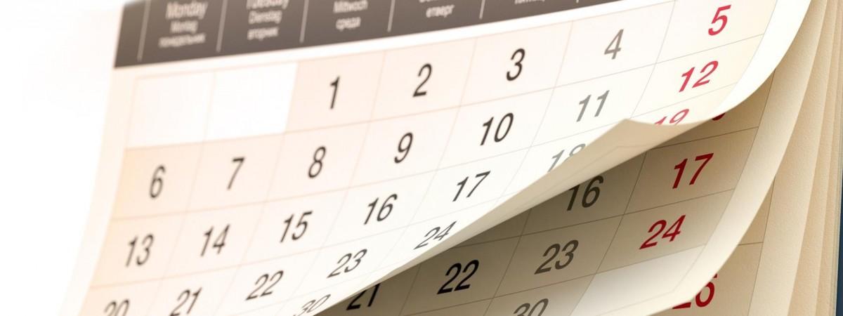 Выходные и праздничные дни в 2018 году
