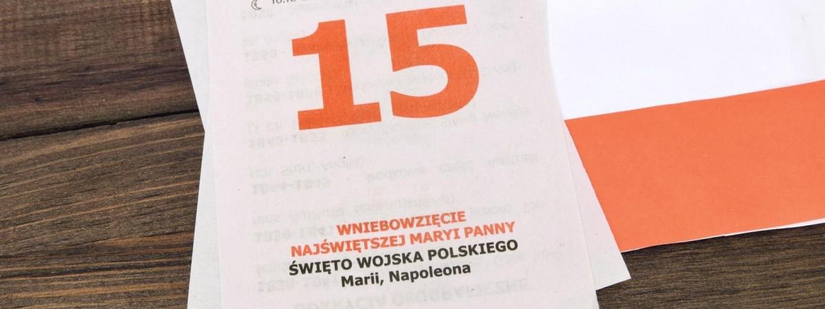 15 серпня в Польщі офіційний вихідний. Відзначають одразу два свята