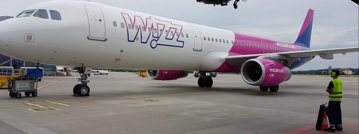 Wizz Air отменяет в августе часть рейсов из Киева в Варшаву, Краков и еще в 15 городов