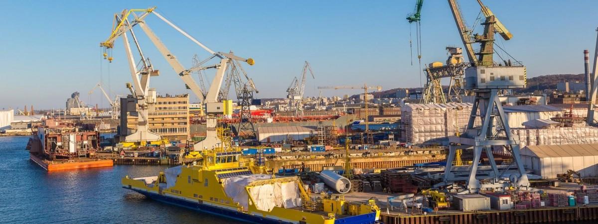 Корабли в Польше будут строить роботы. Люди не хотят
