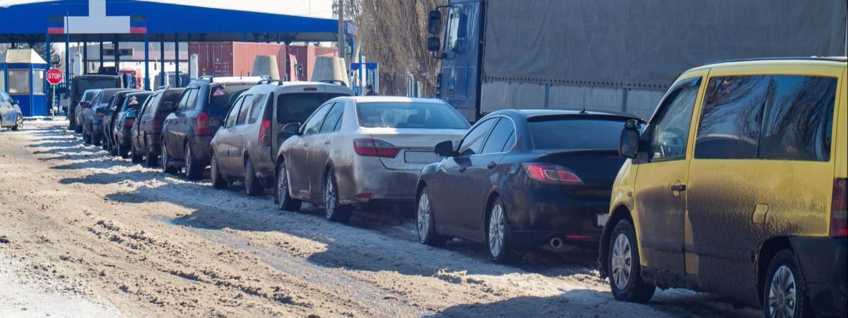 Кордон Україна-Польща. Є дані про найбільш завантажені пункти пропуску та пасажиропотік за рік