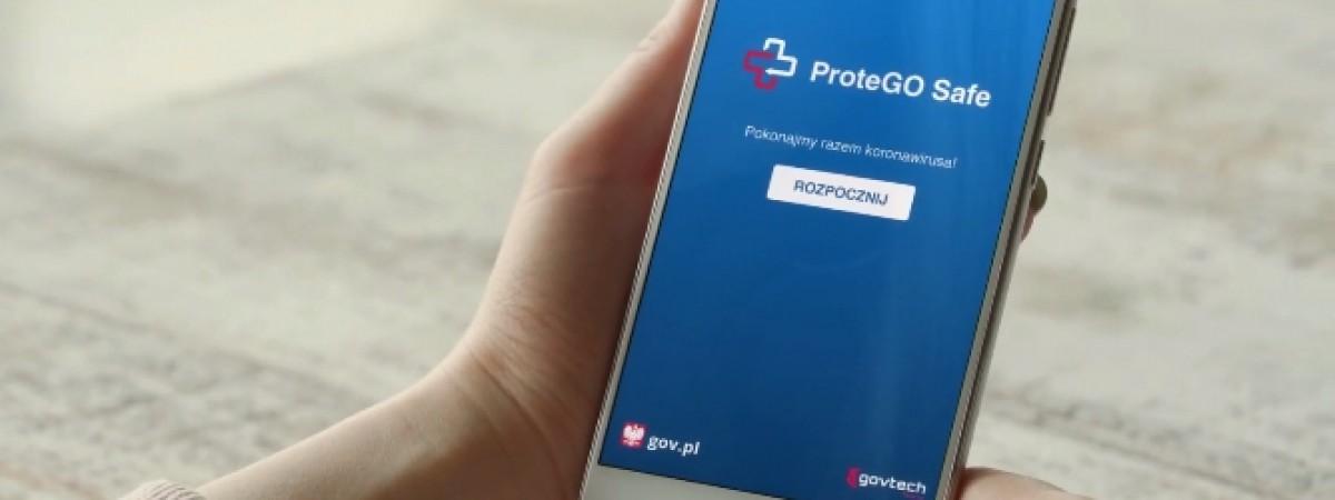 Україномовна версія антикоронавірусного додатку ProteGO Safe у Польщі. Вже скоро