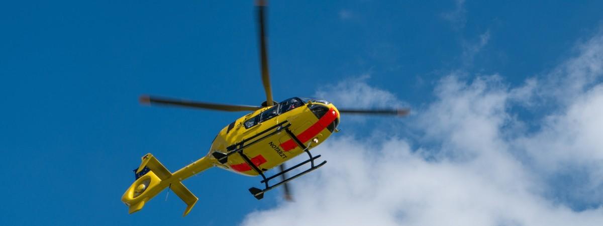 На работе в Польше тяжело травмировался молодой украинец: для спасения задействовали вертолет