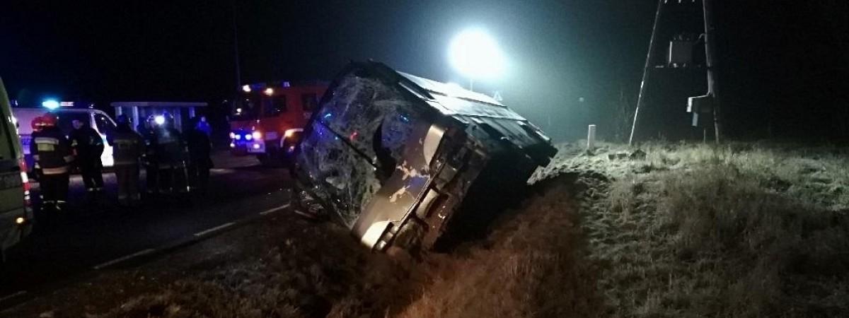 Український автобус потрапив у ДТП в Польщі: є загиблі та поранені