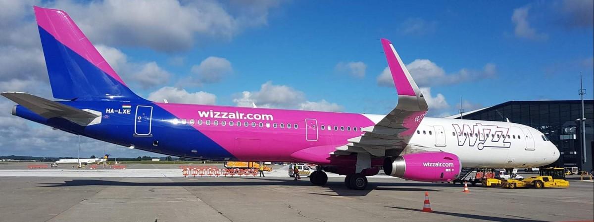 Wizz Air залишить до березня тільки 3 рейси між Польщею та Україною