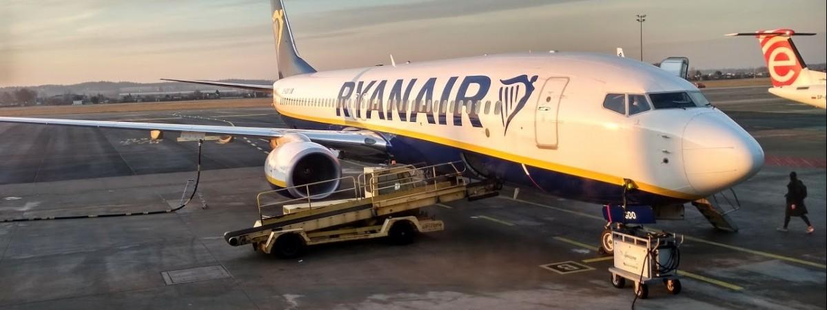 Ryanair продає рекордно дешеві квитки на рейси з Одеси до Польщі