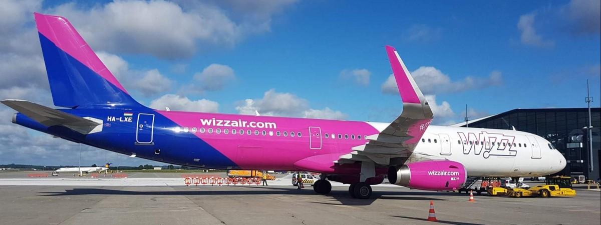 Wizz Air перенес дату открытия рейса