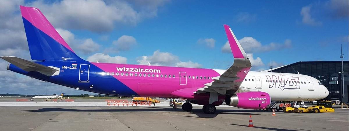 Wizz Air частіше літатиме зі Львова до Польщі