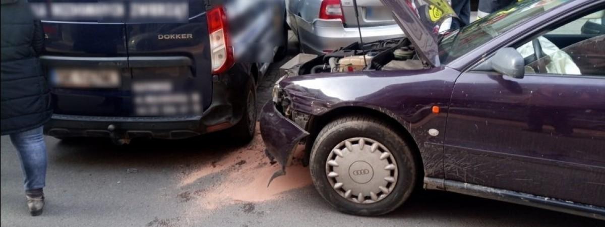 У Польщі нетверезий українець за один раз пошкодив 7 автомобілів