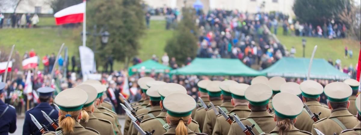 Ко дню польской армии в Варшаве пройдет военный парад (маршрут)