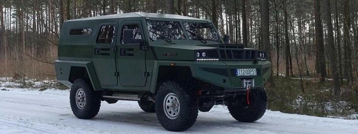 Autobox AH 20.44 - це новий польський позашляховик для війська і не тільки