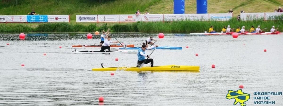 Українці на чемпіонаті Європи в Польщі навеслували на свій найкращий результат в історії