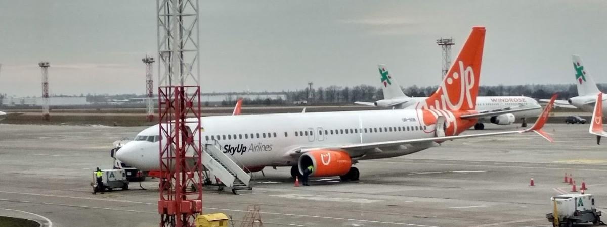 Розклад авіарейсів SkyUp з Польщі до України й навпаки на літо 2021