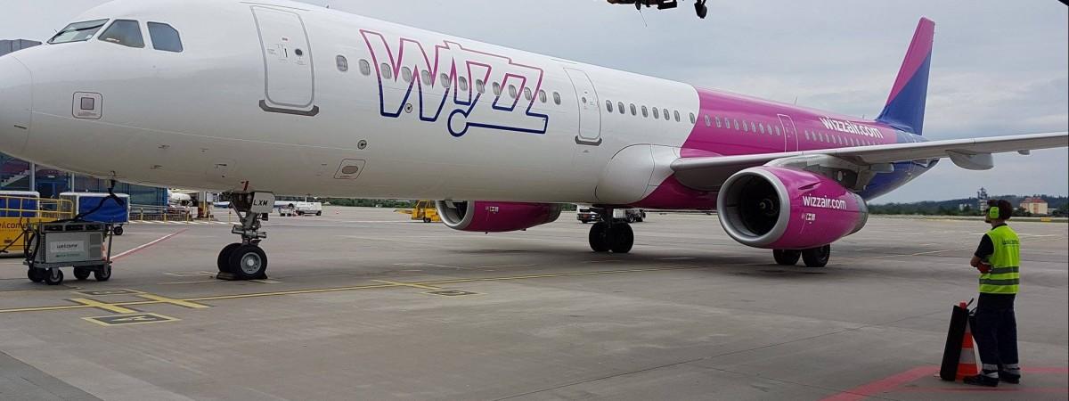 Wizz Air будет летать в Краков из двух украинских городов
