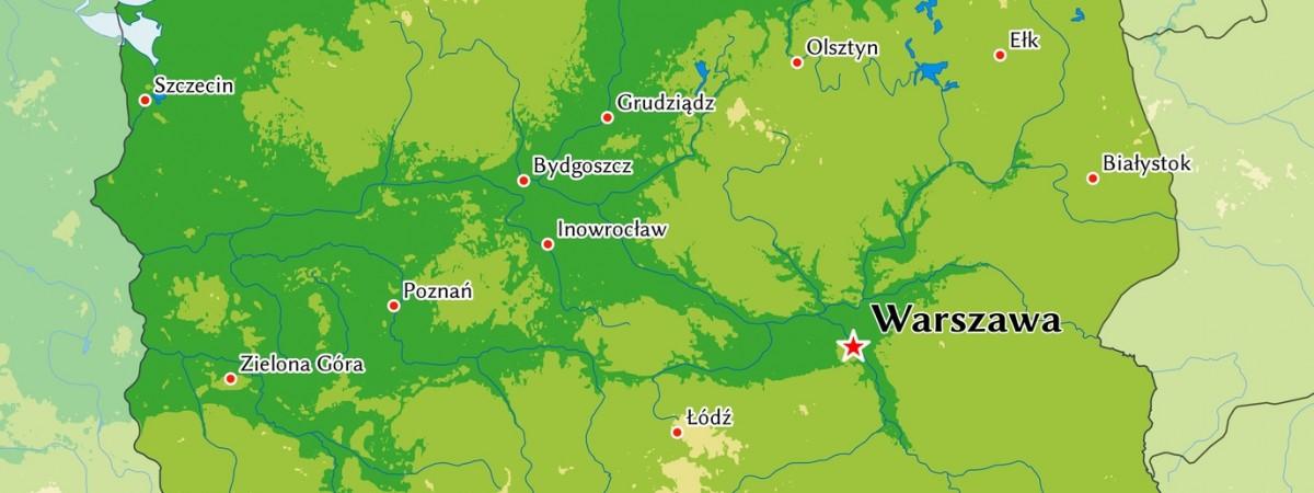 Польські воєводства та їхні столиці