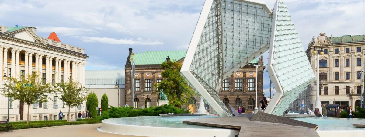 Найкрасивіші фонтани Польщі