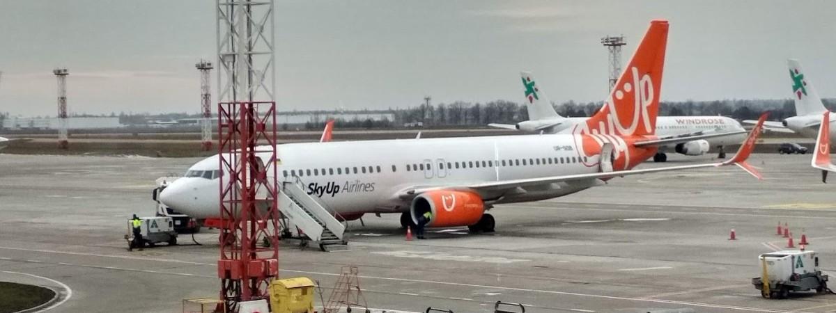SkyUp відмовився від рейсу до Польщі з Києва