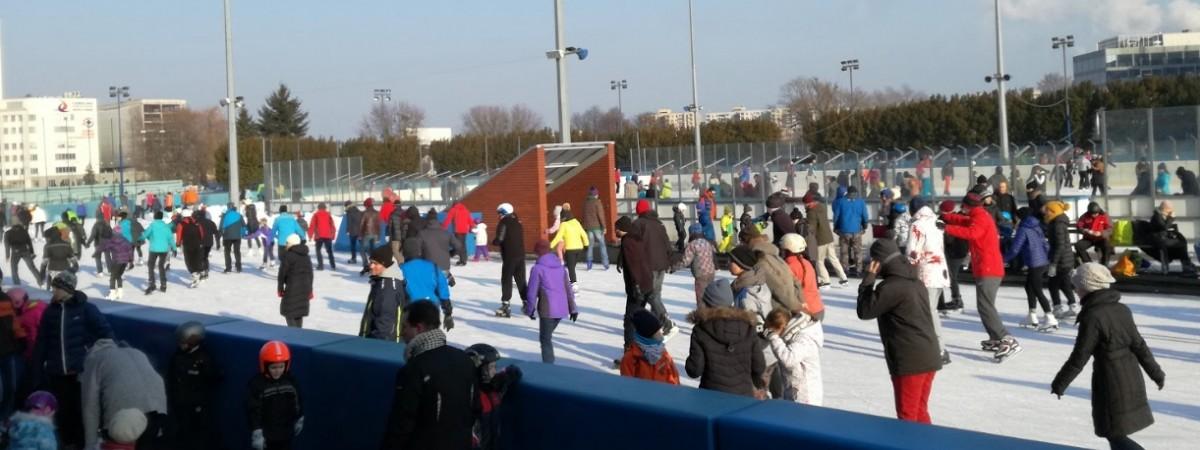 Где в Варшаве покататься на коньках?