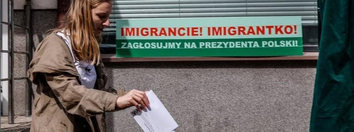 """Проєкт """"Вибори"""" в Польщі від українки: мігранти голосують за кандидатів у президенти (ФОТО)"""