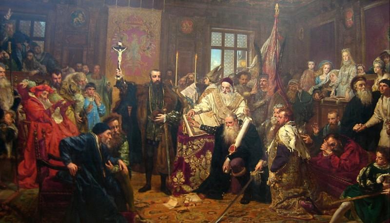 «Люблінська унія», Ян Матейко