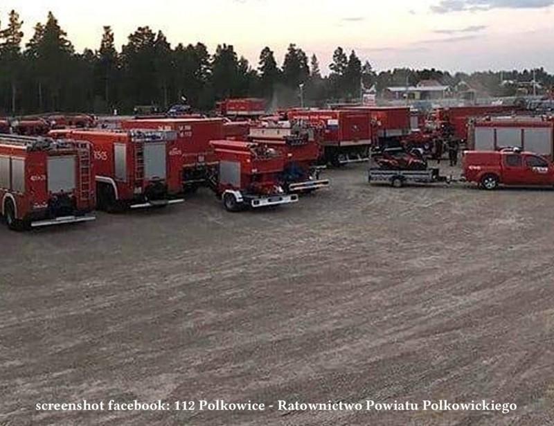 Пожежні машини Польщі