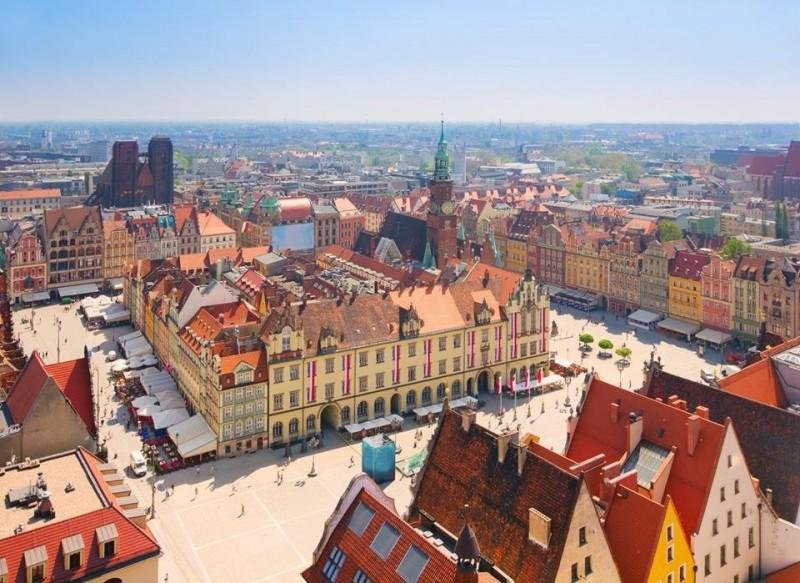 Рынок во Вроцлаве