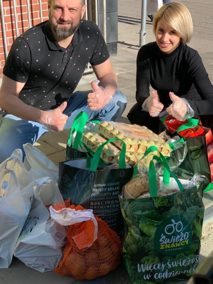 Українці в Польщі допомагають іншим у скрутні часи