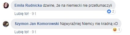Комментарі користувачів Фейсбука