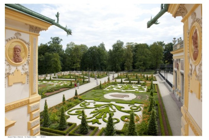 Ogród w Wilanowie (Warszawa)