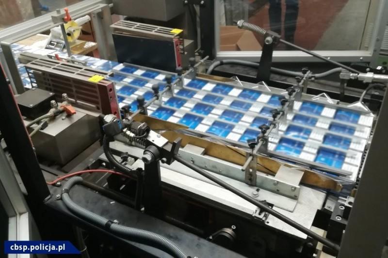 Нелегальном изготовлении табачных изделий