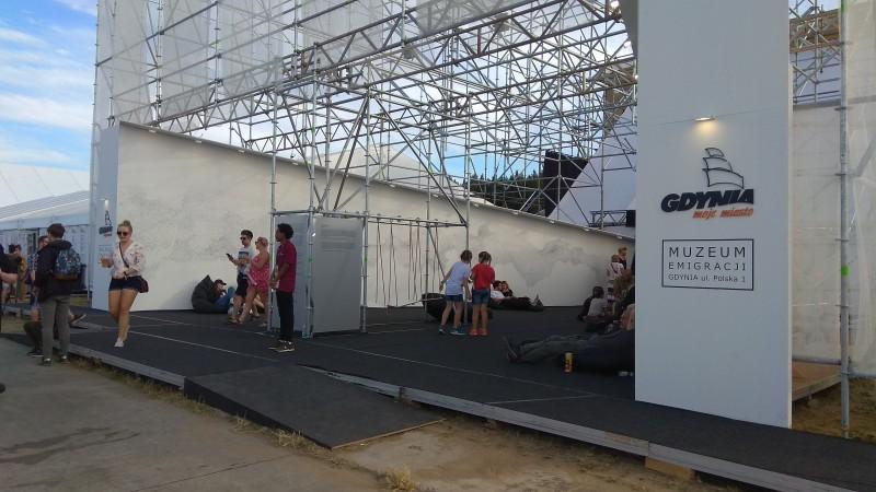 Павільйон музею став таким собі місцем для дискусій і роздумів щодо змін і сутностей, які несуть із собою нові мешканці міст/країн.