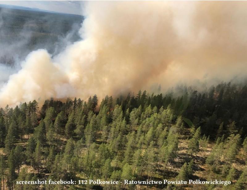 Пожежа в Швеції